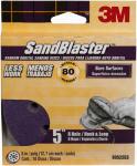 3M 99522ES 10-Pack 5-Inch 80-Grit Sanding Disc