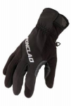 Ironclad Performance Wear SMB2-05-XL Summit Fleece Cold Weather Gloves, Black, XL