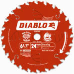 Freud D0624X 6-1/2-Inch 24-TPI Cordless Saw Boss Blade