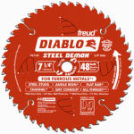 Freud D0748F 7-1/4-Inch 48-TPI Ferrous Metal-Cutting Saw Blade