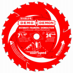 Freud D0724DA 7.25-In. 24-TPI Demolition Saw Blade