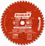 Freud D0648F 6-1/2-Inch 48-TPI Ferrous Metal-Cutting Saw Blade