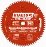 Freud D0770F 7-1/4-Inch 70-TPI Ferrous Metal-Cutting Saw Blade