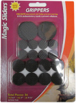 Magic Sliders L P 77922 Grippers Surface Protectors Value Pack, Adhesive, 36-Pc.