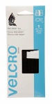 Velcro Usa Consumer Pdts 91426 ONE-WRAP  Strip with Tab, Black, 8 x 1/2-In., 5-Ct.