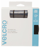 Velcro Usa Consumer Pdts 91372 ONE-WRAP  Fastening Roll, Black, 30-Ft. x 1.5-In.