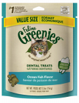 American Distribution & Mfg 10165 Cat Dental Treats, Ocean Fish, 6-oz.