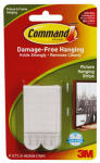 3M 17201-4PK Medium White Picture Hanging Strips