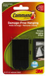 3M 17201BLK Medium Black Picture Hanging Strips
