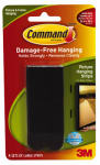 3M 17206BLK Large Picture Hanger Black