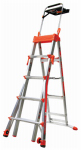 Wing Enterprises 15125-001 Select Step Multi-Position Stepladder, 5 to 8-Ft.