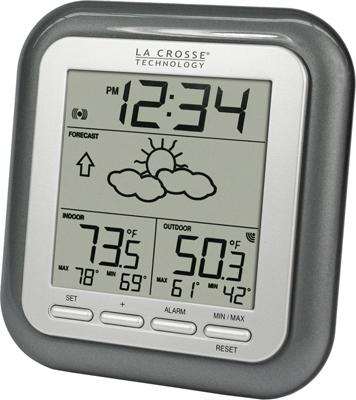 wireless indoor outdoor thermometer La Crosse WS 9133T IT CBP Wireless Indoor/Outdoor Thermometer  wireless indoor outdoor thermometer