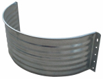 Tiger Brand Jack Post AW-12R Round Window Well Area Wall, 22-Ga. Galvanized Steel, 12-In.