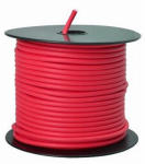 Coleman Cable 55671523 Primary Wire, Red PVC, 12-Ga. Stranded Copper, 100', Sold In Store by the Foot