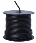 Coleman Cable 55671323 Primary Wire, Black PVC, 12-Ga. Stranded Copper, Sold In Store by the Foot