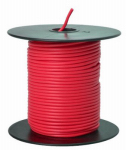 Coleman Cable 55667423 Primary Wire, Red PVC, 18-Ga. Stranded Copper, 100', Sold In Store by the Foot