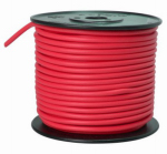 Coleman Cable 55672123 Primary Wire, Red PVC, 10-Ga. Stranded Copper, 100', Sold In Store by the Foot