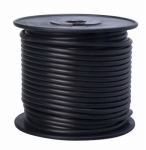 Coleman Cable 55671823 Primary Wire, Black PVC, 10-Ga. Stranded Copper, Sold In Store by the Foot
