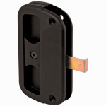Prime Line Products 121997 Black Sliding Screen Door Latch & Pull
