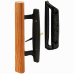 Prime Line Products 142250 Sliding Patio Door Handle Set, Black