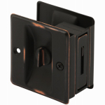 Prime Line Products 164431 Solid-Brass Pocket Door Lock & Pull