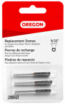 Oregon Cutting Systems 28840 3-Pack 5/32-Inch Replacement Sharpening Stone