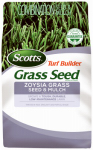 Scotts Lawns 18362 Turf Builder Zoysla Grass Seed & Mulch, 5-Lbs.
