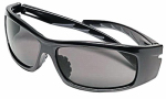 Safety Works 10105403 Nuevo Wrap Gray-Tint Safety Glasses