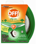 S C Johnson Wax 71703 Personal Mosquito Repellent, Clip-on Fan