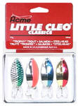 Big Rock Sports 0287-0615 Fishing Lure Kit, Little Cleo, 4-Pc.