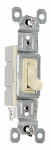 Pass & Seymour 660IGU 1 Pole Switch 15A 120V GRD Ivory