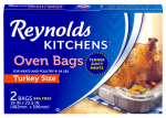 Reynolds Consumer Products 1001090000510 Oven Cooking Bag, Turkey Size, 2-Ct.