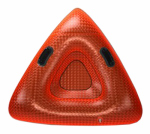Aqua Leisure Ind AW4152 Triangular Snow Tube, 48-In.
