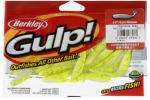 Big Rock Sports 4475-1616 Gulp Minnow, Chartreuse Plastic, 3-In., 11-Ct.