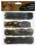 Maurice Sporting Goods R2FK2-BASS1 Bass Worm Kit, 63-Pc.