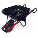 Ames Companies The C6TC14 Total Control  Wheelbarrow, Steel, 6-Cu. Ft.