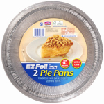 Ez Foil/Reynolds 00Z10834 EZ Foil Deep Pie Pan, 8-3/4 x 1-9/64-In., 3-Pk.