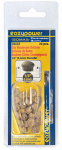 Eazypower 39432 20PK 1/4 Mush Oak Plug