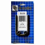 Indiana U-Bolts S116 3/8x2x3-3/4 Square U Bolt