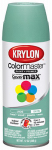 Krylon Diversified Brands K05350902 Colormaster Spray Paint, Indoor/Outdoor Use, Satin Jade, 12-oz.