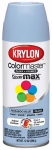 Krylon Diversified Brands K05151702 Colormaster Spray Paint, Indoor/Outdoor Use, Gloss Peakaboo Blue, 12-oz.
