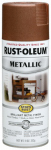 Rust-Oleum 248637 Stops Rust Metallic Spray Paint, Vintage Copper, 11-oz.