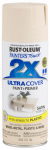 Rust-Oleum 249073 Painter's Touch 2X Spray Paint, Satin Ivory, 12-oz.