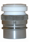 Larsen Supply 09-1951NL Dual-Thread Snap Nipple With Aerator