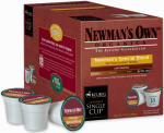 Keurig Green Mountain 120250 Newmans Own Organics Special Blend Extra Bold K-Cups, 18-count