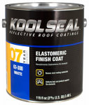 Kst Coating KS0063300-16 White Elastomeric Roof Coating , 0.9 Gal.