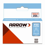 Arrow Fastener 224 5000-Pack 1/4-Inch Staples