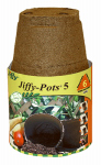 Plantation Products JP506 Peat Pot, 5-In., 6-Pk.