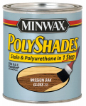Minwax The 217854444 1/2-Pint Low-VOC Gloss Mission Oak Polyshades