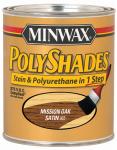 Minwax The 619850444 1-Quart Low-VOC Satin Mission Oak Polyshades